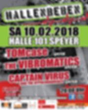 Hallenbeben - 2018