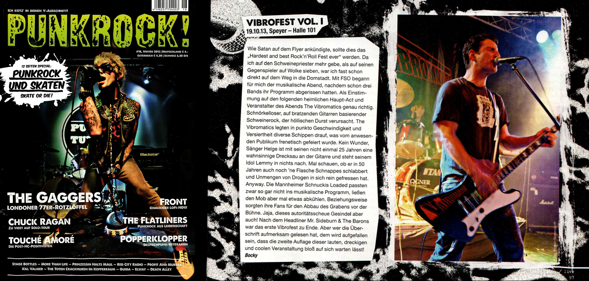 The Vibromatics - Review PUNKROCK 2013