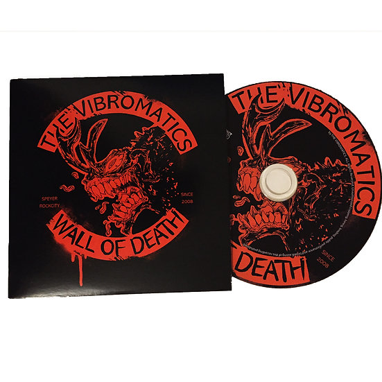 "The Vibromatics - EP ""Wall Of Death"""