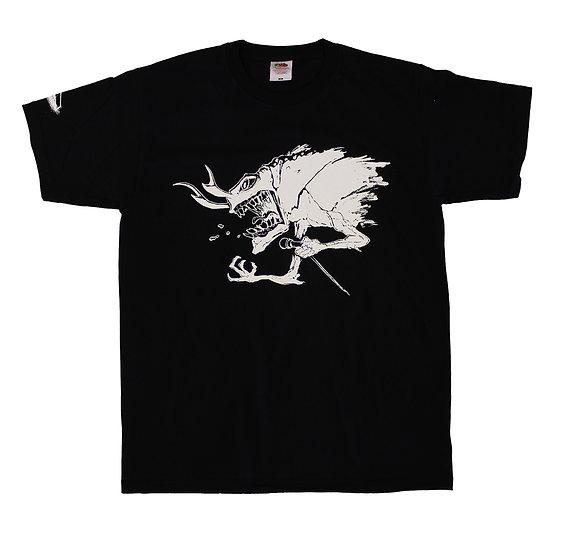 """T-Shirt """"Psycho Bug Black"""""""