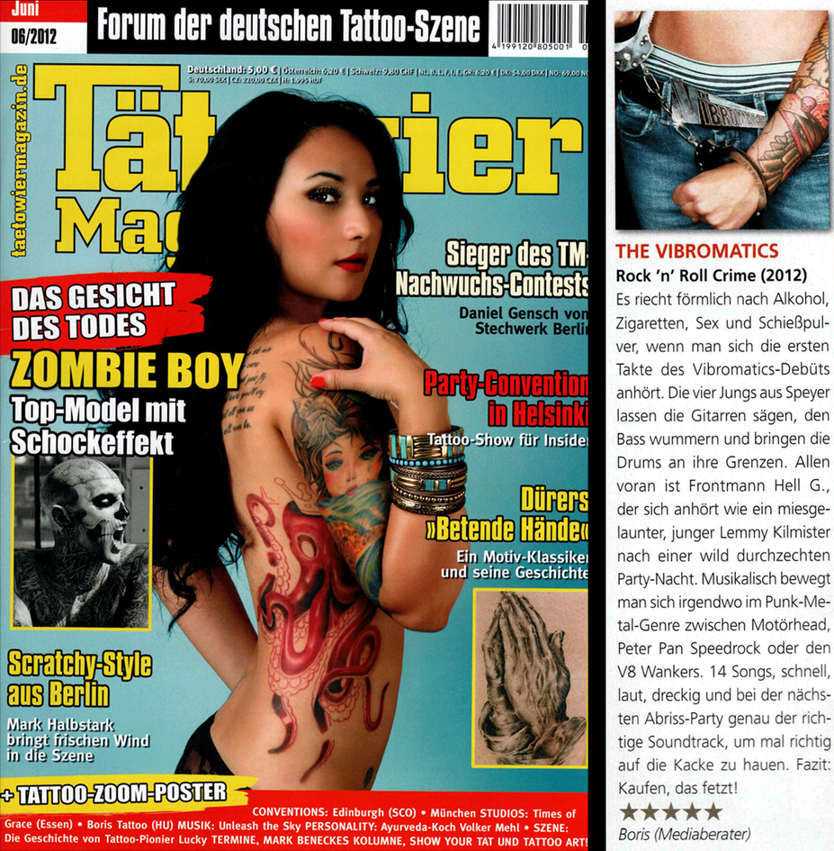 The Vibromatics - Review TÄTOWIER MAGAZIN 2012