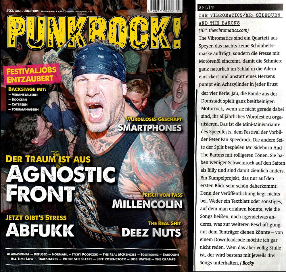 The Vibromatics - Review PUNKROCK 2015
