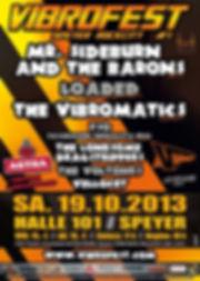 VIBROFEST #1 - 2013