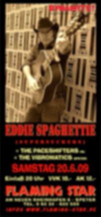 Eddie Spaghettie - 2009