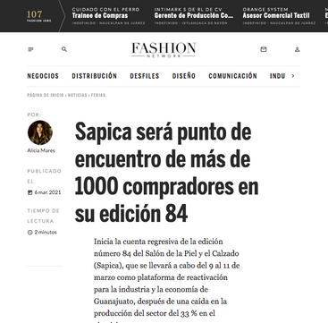 Fashion Network / Marzo 2021