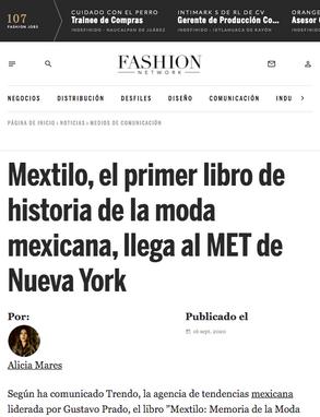 Fashion Network / Septiembre 2020