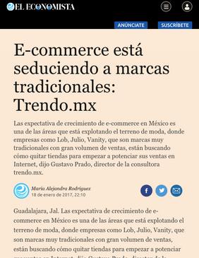 El Economista / Enero 2017