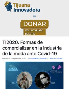 Tijuana Innovadora / Septiembre 2020