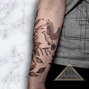 alita_de_ferrari_half_sleeve_floral_dove