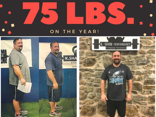 75 LBS. Lost in One YEAR!