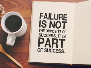 Seeing Failure as a Critical Part of Success  By: Katy Kresge