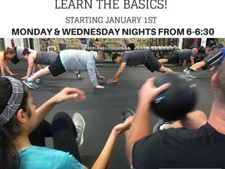 Intro Beginner Level Class Starting January 1