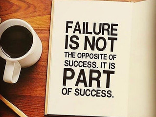 Seeing Failure as a Critical Part of Success