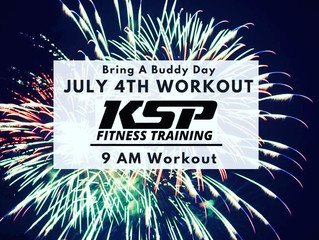Join us July 4th for a workout!