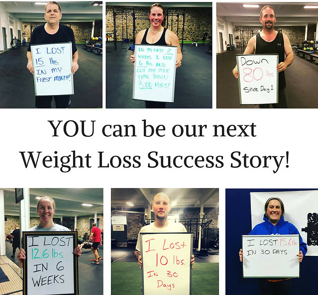 You can be our next great weight loss su