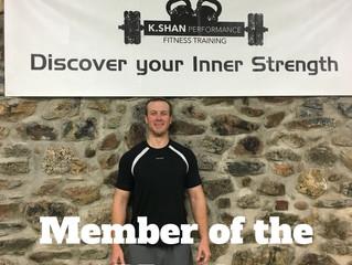 November Member of the Month-Sean Z