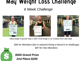 May Weight Loss Challenge: Enrolling Now!