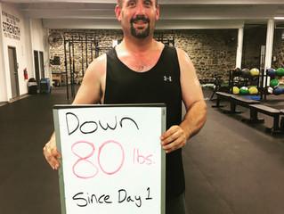 KSP Fitness Bethlehem Weight Loss Success