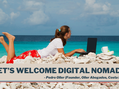 Let's Welcome Digital Nomads
