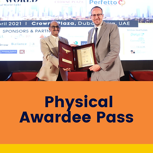 Physical Awardee Pass
