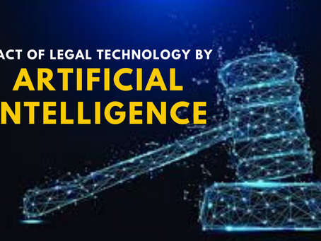 How AI is changing the way Legal Industry functions
