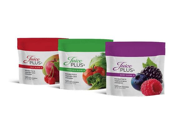 Juice Plus Fruit, Berry and Veggie Gummies