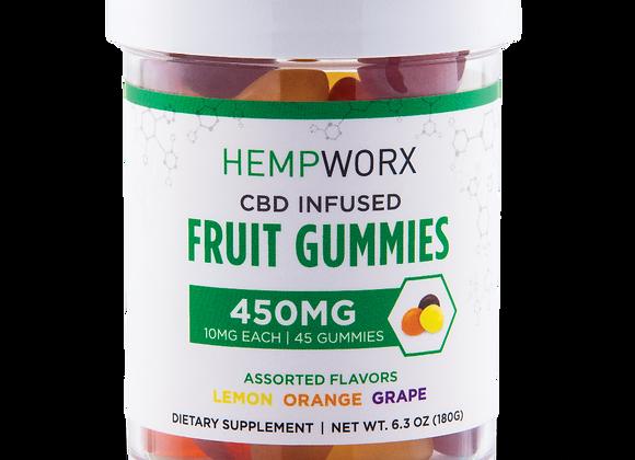 Hempworx Gummies  450mg  CBD Infused