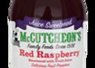 Juice Sweetened Red Raspberry Fruit Preserves