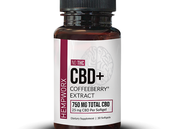 CBD Plus Coffeeberry  Energy Softgels