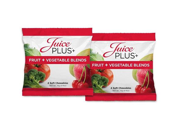 juice Plus Fruit and Veggie Pocket Packs