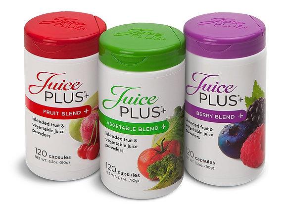 Juice Plus Trio - vwggies, Fruits and Berries