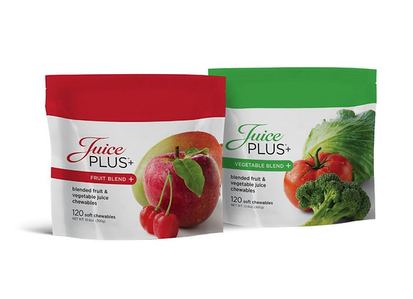 Juice Plus Veggie and Fruit Gummies Duo