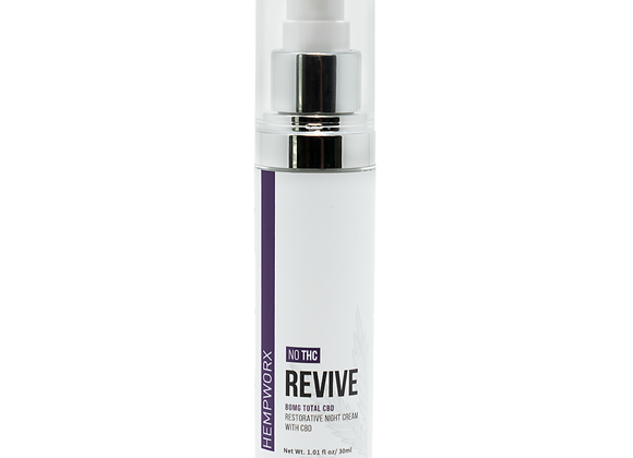 Revive Night Cream and Moisturizer
