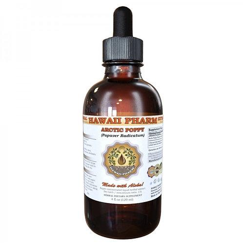 Arctic Poppy Liquid Extract, Arctic Poppy (Papaver Radicatum) Herb Tincture
