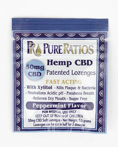 Pure Ratios – Hemp Lozenge (1 Piece / 50mg CBD)
