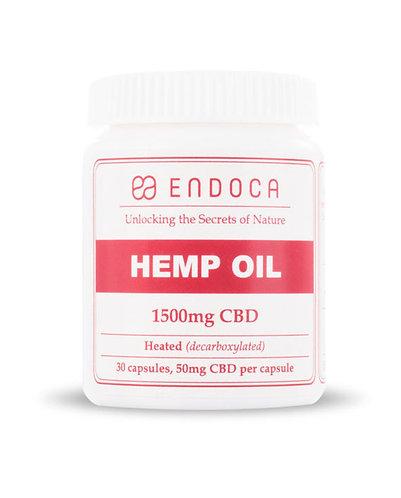 Endoca – CBD Capsules 30 Count (1500mg CBD)