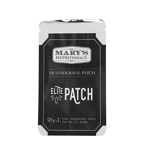 Mary's Nutritionals – Elite CBD Patch (10mg CBD)