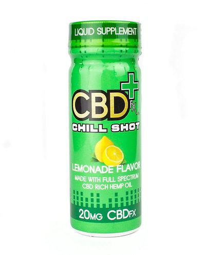 CBDfx – Lemonade Chill Shot (20mg CBD)