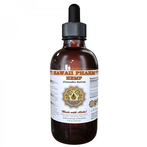Hemp Liquid Extract, Hemp (Cannabis Sativa) Dried Seed Tincture