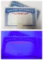 Tamper Proof UV Light Securty Ink