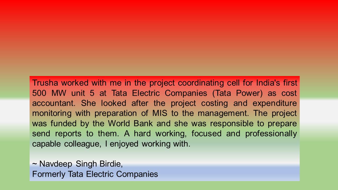 Tata Electric Companies, India