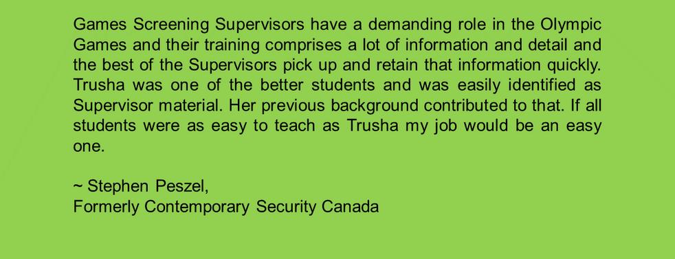 Contemporary Security Canada