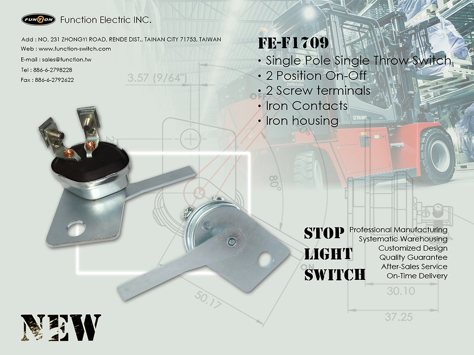 New product FE-F1709/stop light switch