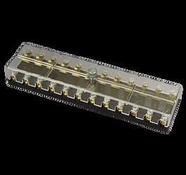 fuse box/FE-A1525/12 pole/polycarbonate cover/Mercedes Benz
