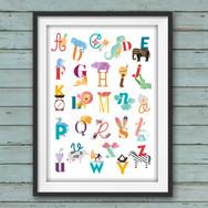 Poster Alfabeto