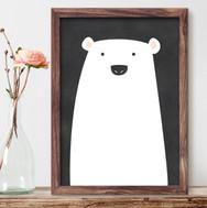 Poster Urso Polar