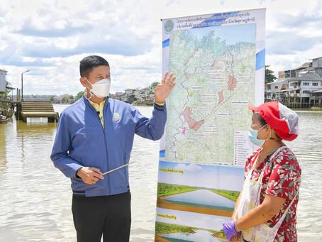 """""""กรมชลประทาน""""เดินหน้าโครงการบรรเทาอุทกภัยและบริหารจัดการน้ำ จ. สุราษฎร์ธานี"""