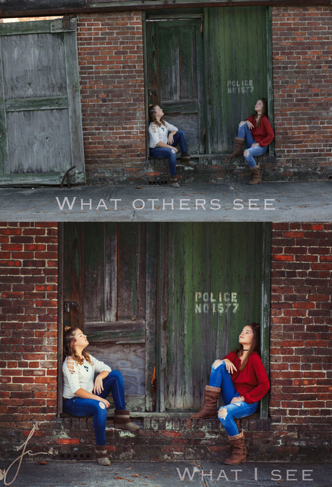 What Others See vs What I see