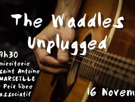 Sa 16 Nov : The Waddles Unplugged