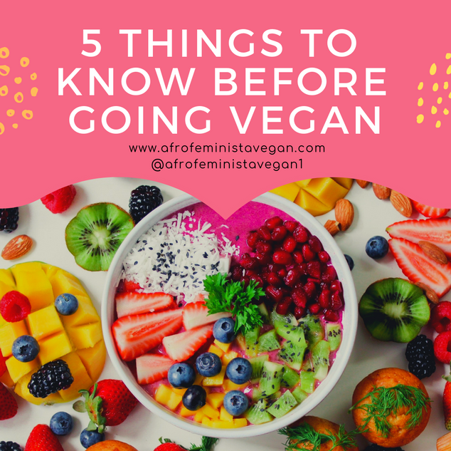 5 things to know before going vegan